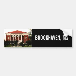 Lampton Auditorium Brookhaven, Mississippi Bumper Sticker