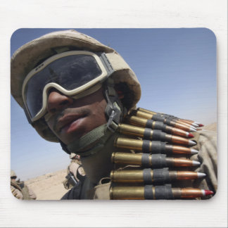 Lance Corporal waits for his turn Mouse Pad