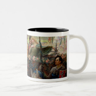 Lancelot and Guinevere Two-Tone Coffee Mug