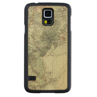 Land Classification Map of Central New Mexico Maple Galaxy S5 Slim Case