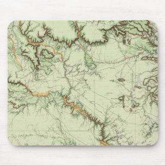 Land Classification Map of New Mexico Mouse Pad
