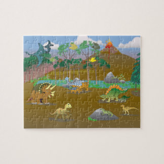 Land of Dinosaurs! Jigsaw Puzzle