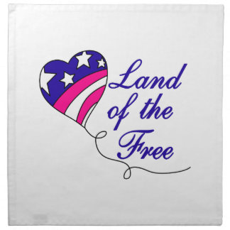 Land Of The Free Napkin