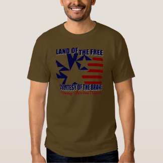 Land of the Free: OEF Vet Tee Shirts