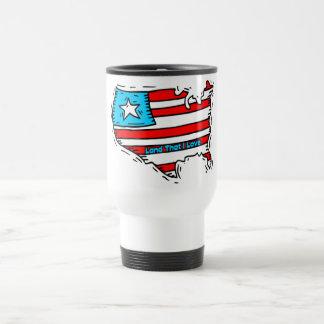 Land That I Love USA Travel Mug