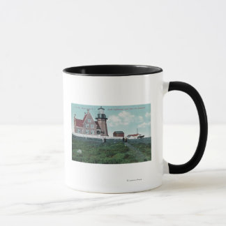 Landhouse View of the South Lighthouse Mug