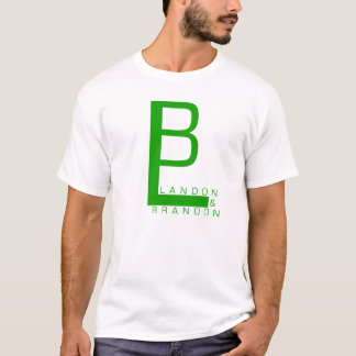 Landon And Brandon Logo T-Shirt (GREEN)