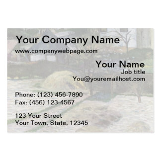 Landscape at Osny - 1881 Pack Of Chubby Business Cards