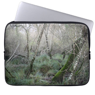 Landscape cork oaks and nature in Doñana, Spain Laptop Computer Sleeves