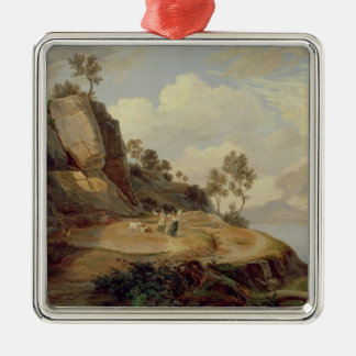 Landscape in Italy Christmas Ornament