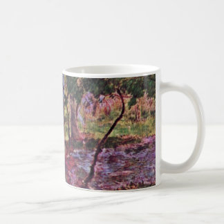 Landscape In Martinique By Gauguin Paul Basic White Mug