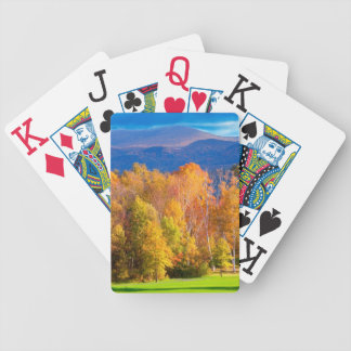 Landscape in Vermont Bicycle Playing Cards