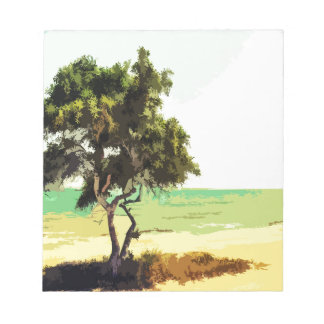 Landscape Notepad