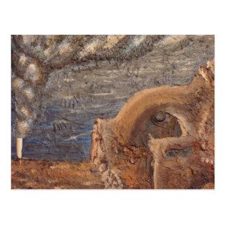 landscape nueve mexico postcard