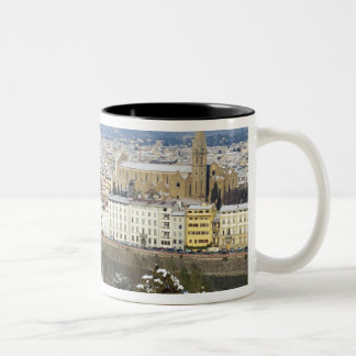 Landscape of Florence from Piazzale Two-Tone Coffee Mug