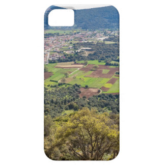 Landscape village with houses in valley of Greece iPhone 5 Cases