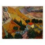 Landscape with House and Ploughman Posters