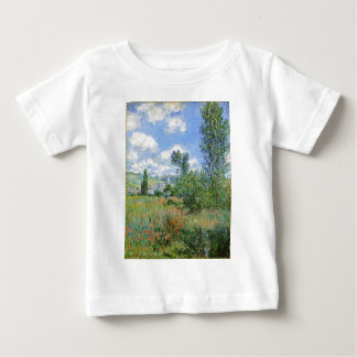 Lane in the Poppy Fields - Claude Monet Baby T-Shirt