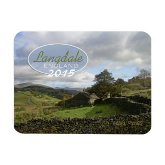 Langdale England Souvenir Magnet Change Year