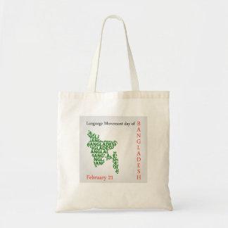 Language Movement day of Bangladesh on February 21 Tote Bag