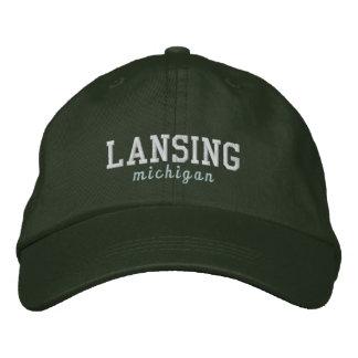 Lansing Michigan Green Hat