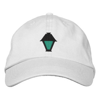 Lantern hat embroidered cap