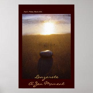 Lanzarote: A Zen Moment Poster