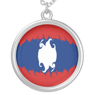 Laos Gnarly Flag Necklaces