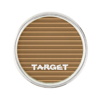 Lapel Pin Template DIY Add TEXT  replace IMAGE FUN
