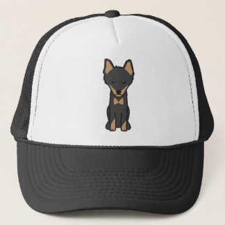 Lapinporokoira Dog Cartoon Trucker Hat