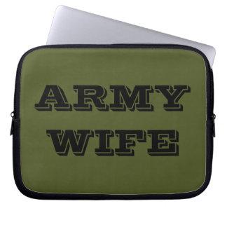 Laptop Sleeve Army Wife