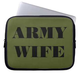 Laptop Sleeve Army Wife
