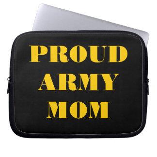Laptop Sleeve Proud Army Mom