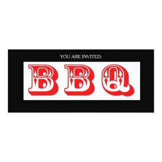Large BBQ Summertime Invitation