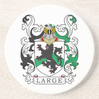 Large Family Crest (Irish) Coaster