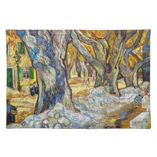 Large Plane Trees by Vincent Van Gogh Placemat