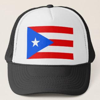 Large Puerto Rican Flag Trucker Hat
