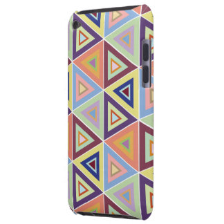 large triangular pattern tile ipod touch case