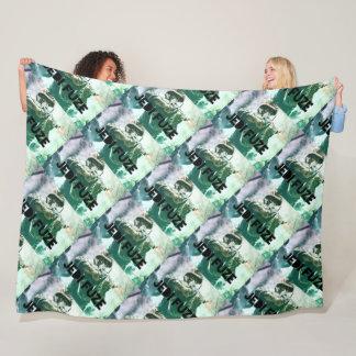 Large WWII Jedi Fuze Fleece Blanket