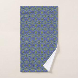 Larkspur Blue Delphinium Hand Towel