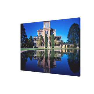 Larnach Castle, Dunedin, New Zealand Stretched Canvas Print