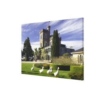 Larnach Castle, Otago Peninsula, Dunedin, Canvas Prints