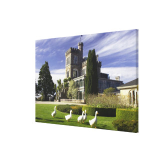 Larnach Castle, Otago Peninsula, Dunedin, Stretched Canvas Print
