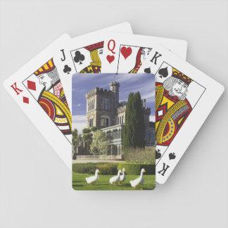 Larnach Castle, Otago Peninsula, Dunedin, Playing Cards