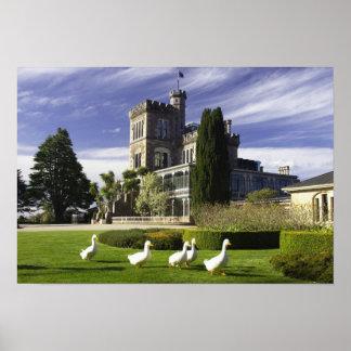 Larnach Castle, Otago Peninsula, Dunedin, Poster