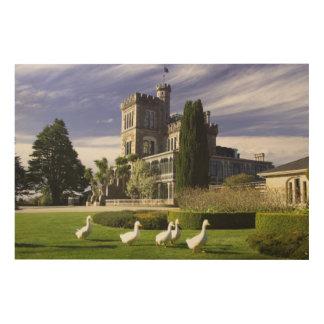 Larnach Castle, Otago Peninsula, Dunedin, Wood Print