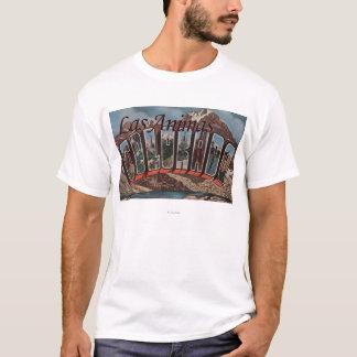 Las Animas, Colorado - Large Letter Scenes T-Shirt