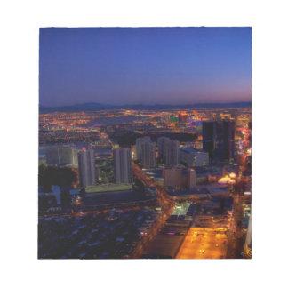 Las Vegas by Night 5 Notepad