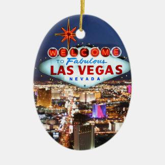 Las Vegas Gifts Christmas Ornament