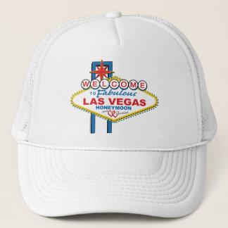 Las Vegas Honeymoon Trucker Hat